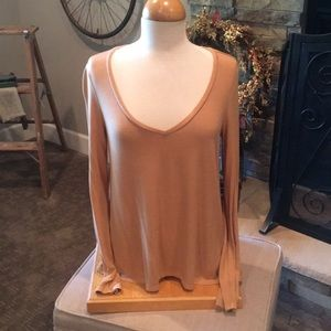 American Eagle Soft & Sexy Lg Sleeve Ribbed T NWT